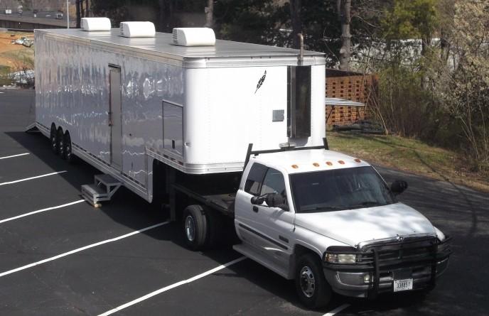 Blank Skin MVU Truck & TrailerCropped